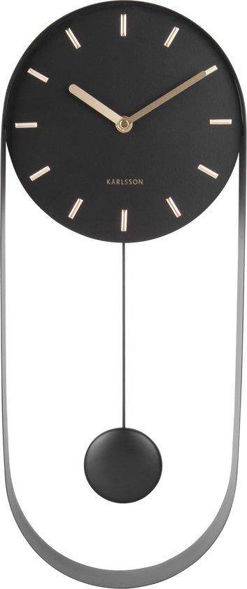 Karlsson Pendule Charm Wandklok 50 x 20 cm