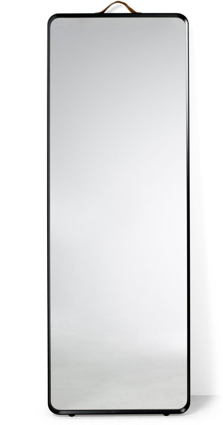 Menu Norm Floor Mirror spiegel zwart