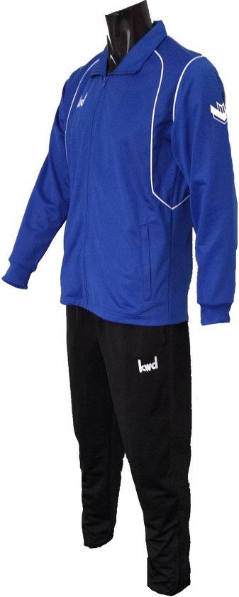 KWD Trainingspak Victoria - Kobaltblauw/wit/zwart - Maatt XL