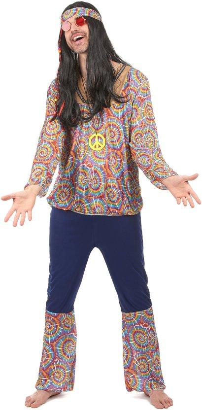 Hippiekostuum voor heren - Volwassenen kostuums