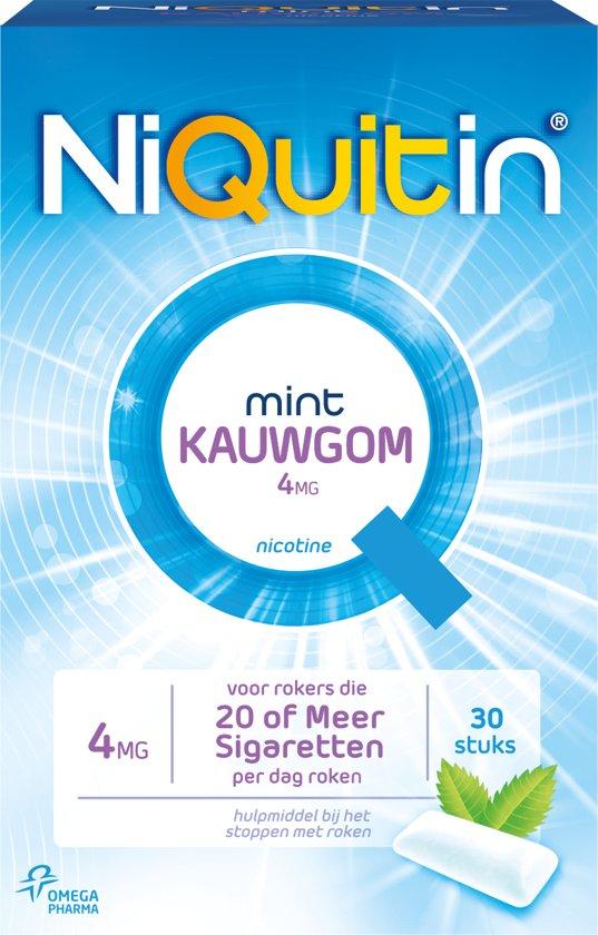 Niquitin kauwgom 4mg 30 st