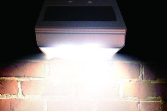 bol.com | basic Watshome LED Solar Buitenverlichting met Bewegingssensor
