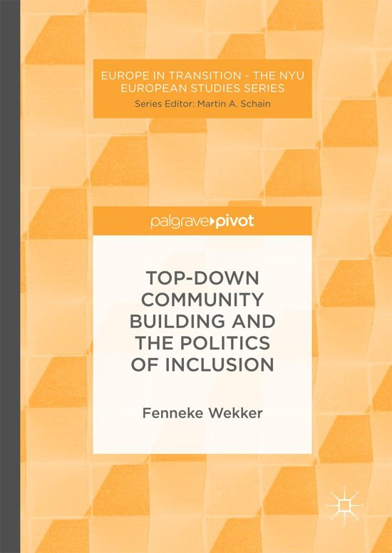 Bolcom Top Down Community Building And The Politics Of Inclusion