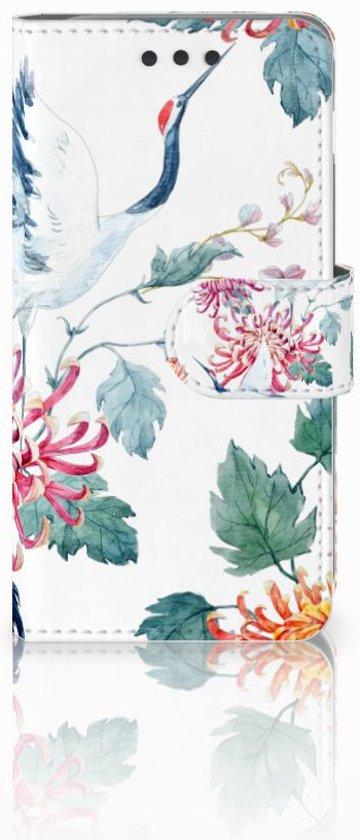 Bookcover Samsung Galaxy A3 2016 Bird Flowers