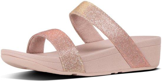 Roze Slippers FitFlop Lottie Glitzy  Dames 39