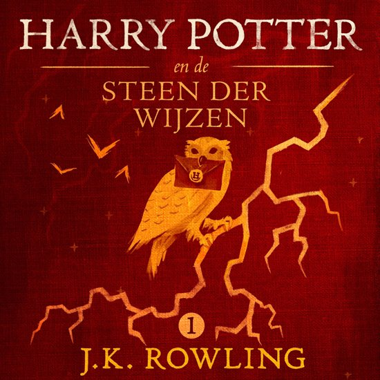 Boek cover De Harry Potter-serie 1 - Harry Potter en de Steen der Wijzen van J.K. Rowling (Onbekend)