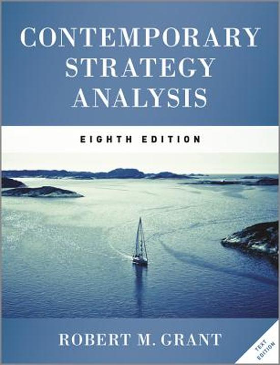 grant r m 2013 contemporary strategy analysis Contemporary strategy analysis: text and cases, 8th edition robert m grant  isbn: 978-1-119-94189-7 jan 2013 842 pages select type: paperback.