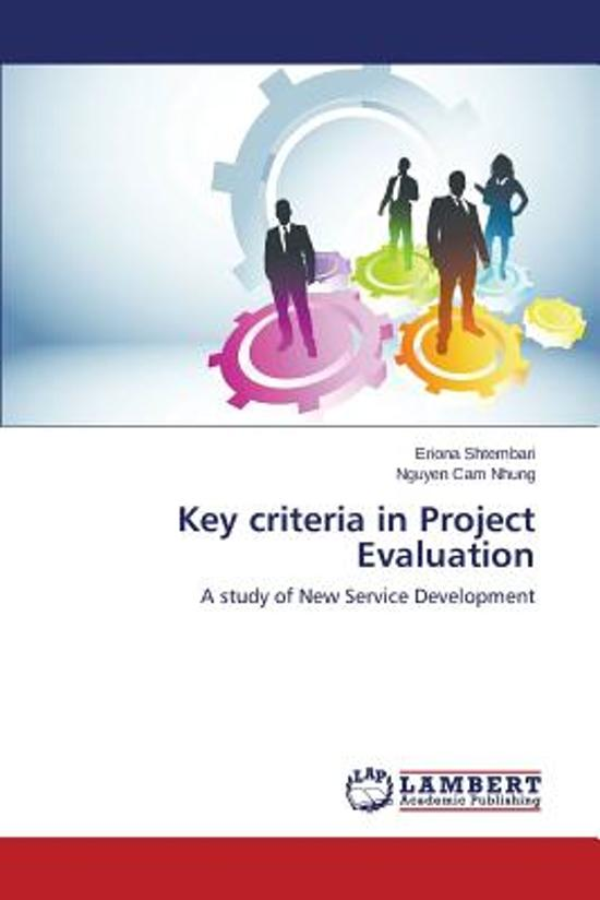Key Criteria in Project Evaluation