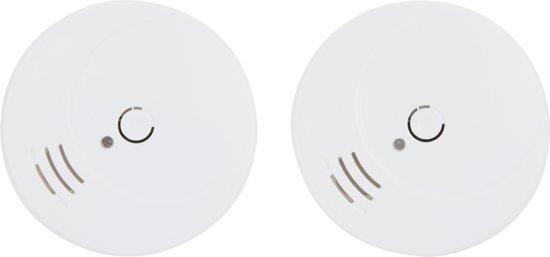 Smartwares RM149/2 Rookmelders - Inclusief batterij - 2-pack - Testknop - 85 dB