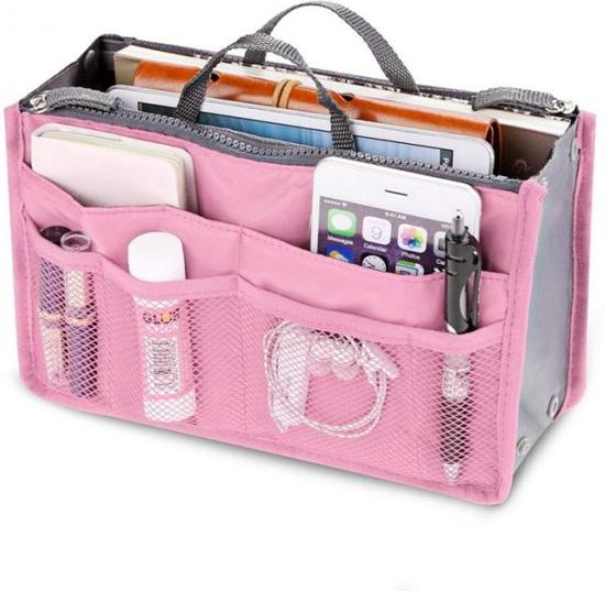 Tas Roze Bag In Tasje Hand Cosmetica Organizer Make Up Reistas u1TFlKJc3