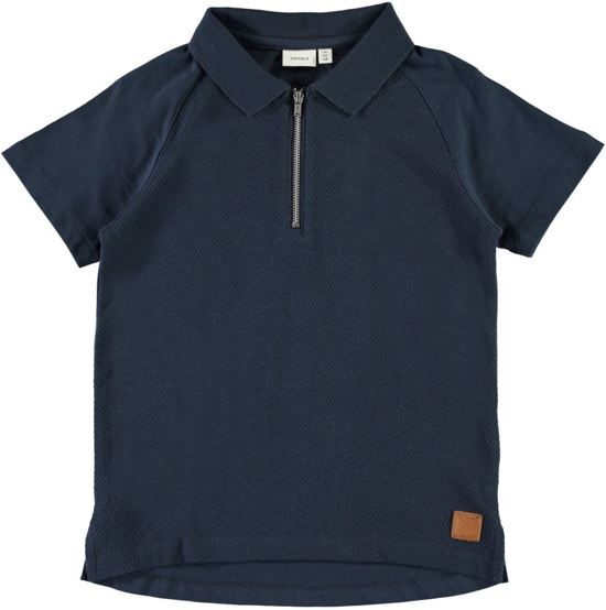 polo shirt blauw- name it - 146/152