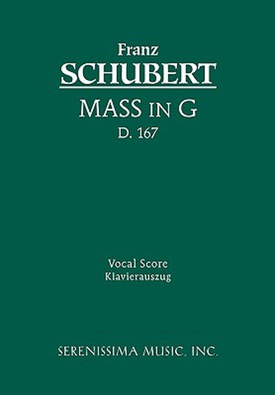 Mass in G, D. 167 - Vocal Score