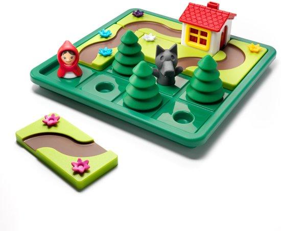 Thumbnail van een extra afbeelding van het spel Smart Games Roodkapje Deluxe - Kinderspel