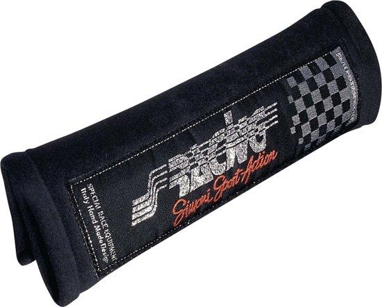 Simoni Racing Set Protector Schouderkussens - Zwart Microfibre
