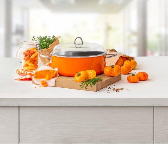 Silit Stoofpan Passion Orange 6 Liter