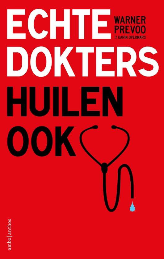 Boekomslag voor Echte dokters huilen ook
