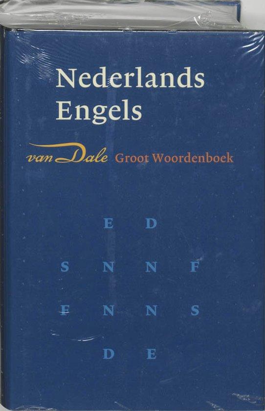 Bolcom Van Dale Groot Woordenboek Nederlands Engels W