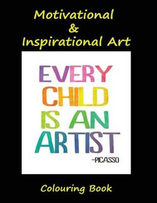 Bolcom Motivational Inspirational Art Colouring Book S J