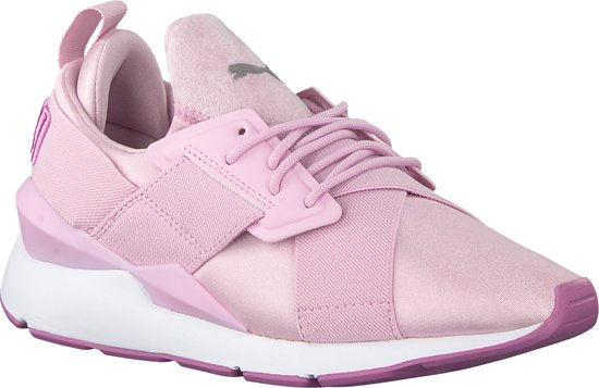 Dames Maat 41 Puma SatinRoze Sneakers Muse trCxhQsd