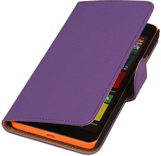 MP Case Paars booktype Microsoft Lumia 640 XL hoesje in Maasbree