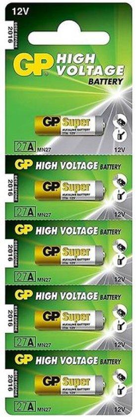 GP Alkaline 27A - blister 5