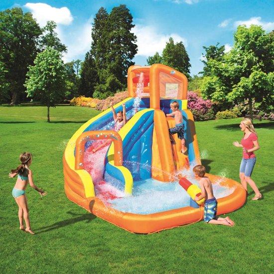 Bestway H2OGO Glijbaan Turbo Splash Water Zone-Mega Water Park 53301