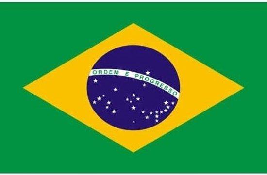 bol | braziliaanse vlag, vlag van brazilië 90 x 150