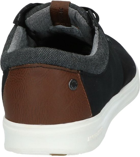 Jones Zwarte Mix Canvas Lage Jack amp; Schoenen Gaston xZfZnRq