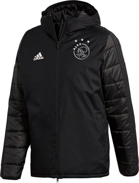 Winterjas Xxxl Heren.Bol Com Adidas Ajax Winterjas Heren 2018 2019 Zwart Maat Xxxl