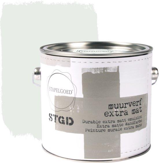 Stapelgoed - Muurverf extra mat - Ash - Groen - 2,5L
