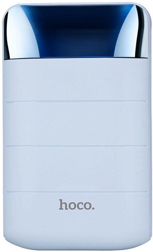HOCO Domon 10000mAh Power Bank PowerBank PowerStation 1A/2A met zaklamp - Blauw