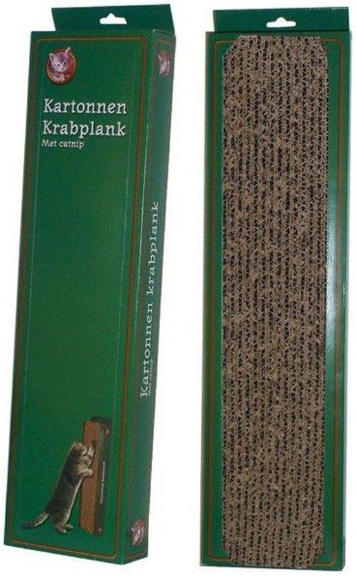 Krabplank Karton Met Catnip