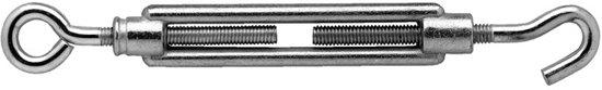 Dulimex Spanschroef handelsuitvoering haak-oog 800-10KA verzinkt M10 x 70mm 8003.151.080A