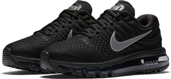 Nike Wmns Air Max 2017 Sneakers Dames - Black/White-Anthracite