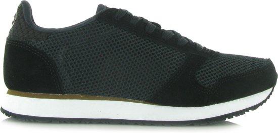 bdae5535cd6 Woden 40 Laag Gekleed black 020 Dames Sneaker Zwart;zwarte Wns029 Maat  POwqPf6