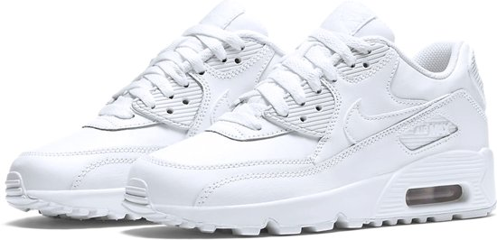 fa4826b34b0 ... Nike Air Max 90 Leather Sportschoenen - Maat 39 - Unisex - wit ...