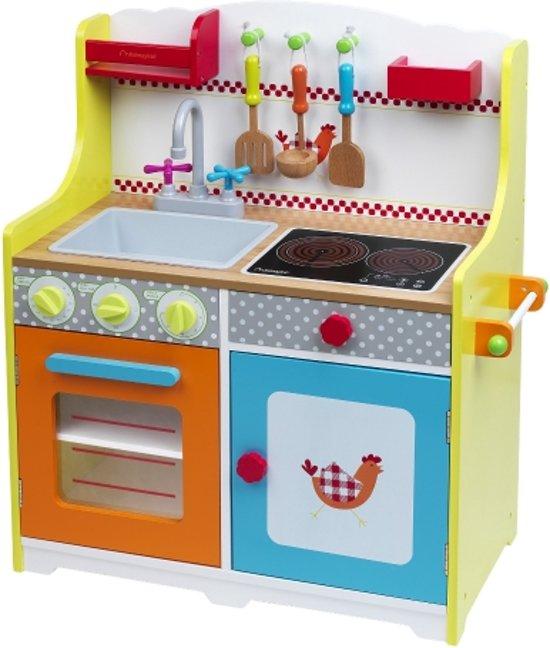 Houten kinderkeuken Chef Deluxe white kopen voor Keuken