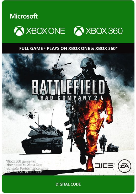 battlefield bad company 2 xbox 360 xbox one. Black Bedroom Furniture Sets. Home Design Ideas