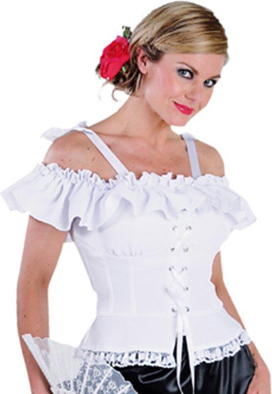 Carnavalskleding Tirol Dames.Bol Com Tiroler Blouse Wit Oktoberfest Carnaval Kostuum Dames
