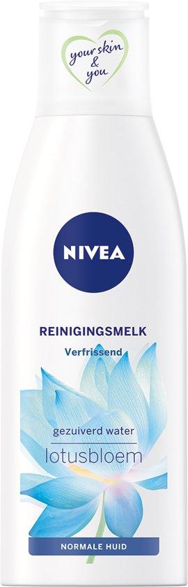 NIVEA Essentials Verfrissende Reinigingsmelk - Gezichtsreiniger - 200 ml - Norm./Gem. Huid