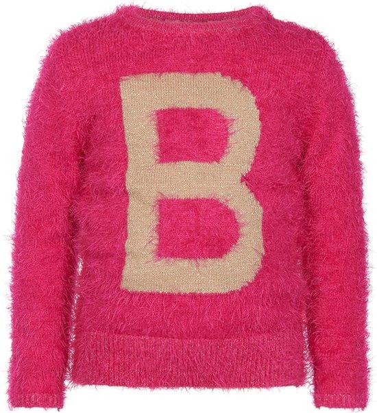 Roze Glitter Trui.Bol Com Le Big Meisjes Trui Roze Maat 98 104