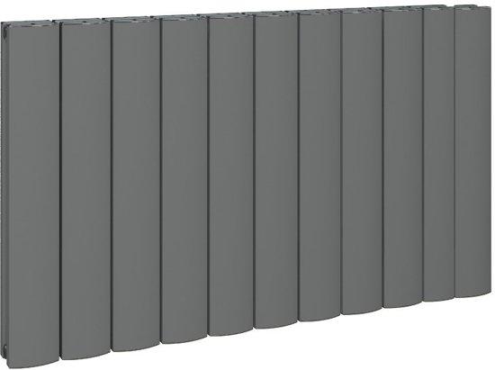Verrassend bol.com   Design radiator horizontaal aluminium mat antraciet VW-79