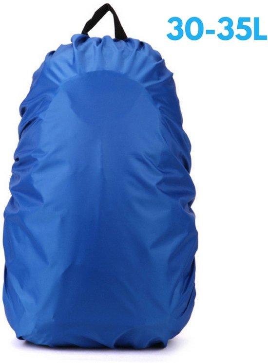 6cc6d0a726a Flightbag - Waterdichte 35 Liter Regenhoes / Regencover voor Backpack of  Rugzak – Blauw