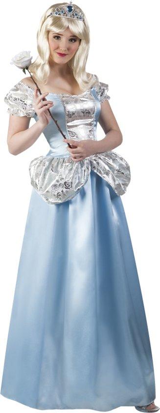 4 stuks: Volwassenenkostuum Prinses Maribel - maat 36/38