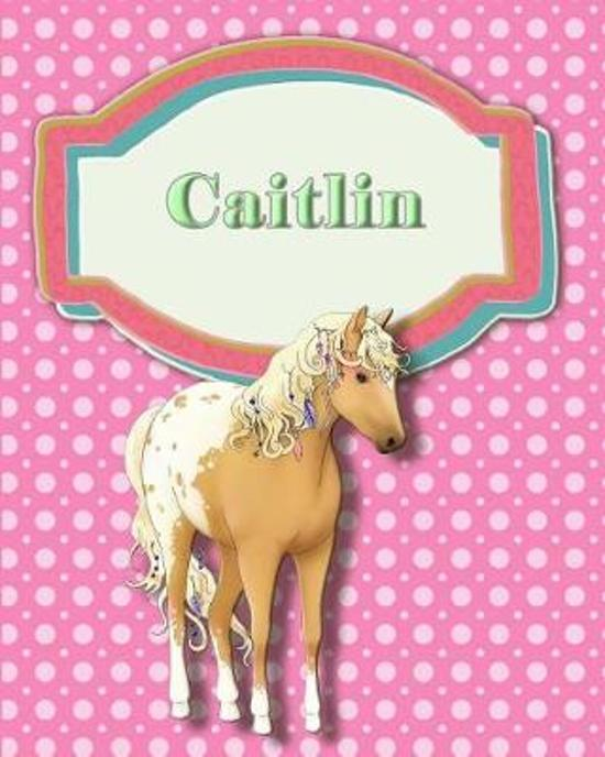 Handwriting and Illustration Story Paper 120 Pages Caitlin