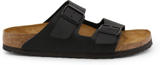 Birkenstock Arizona - Slippers - Black - Smal - Maat 42