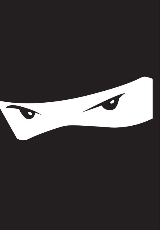 Afbeelding van het spel Standaard Sleeves 'Ninja' (50 st.)