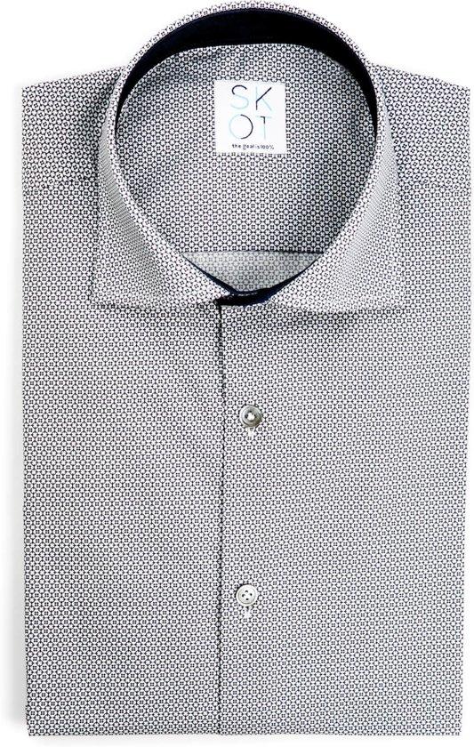 Maat 44 Overhemd.Bol Com Skot Duurzaam Overhemd Heren Serious Mystic Blauw Maat 44