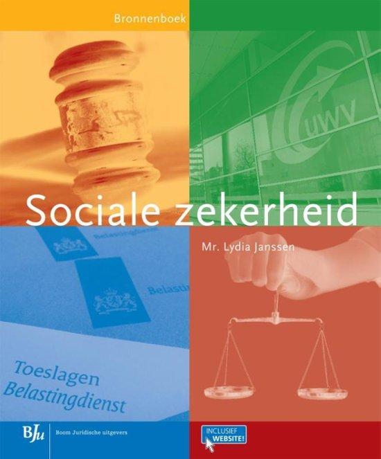 Bronnenboeken MBO Sociale zekerheid