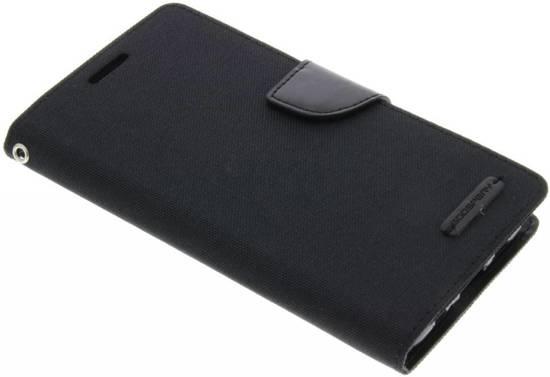 Etui En Toile De Journal Pour Samsung Galaxy S6 Edgeplus - Noir B9i87Fhzd
